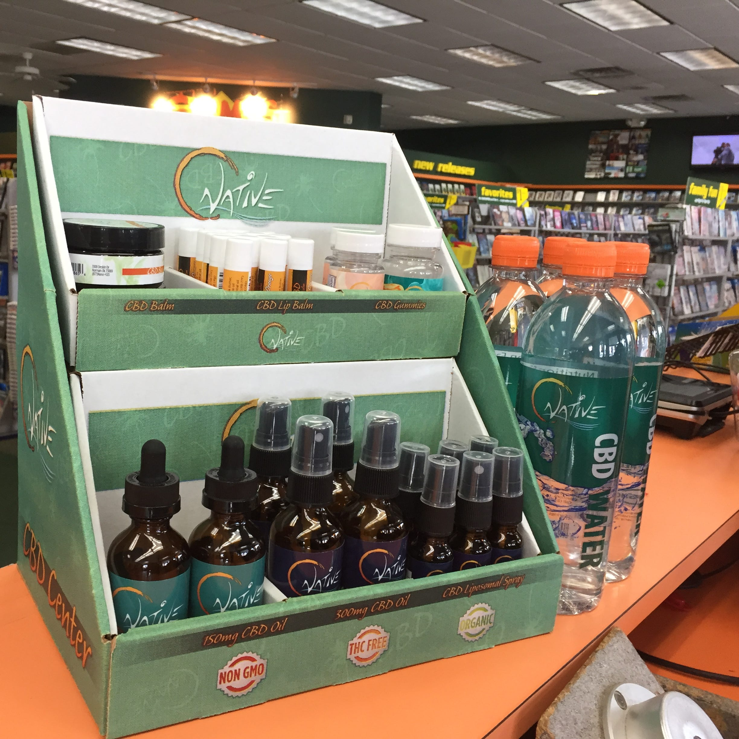 CBD products 'solid money maker' at Howell video store