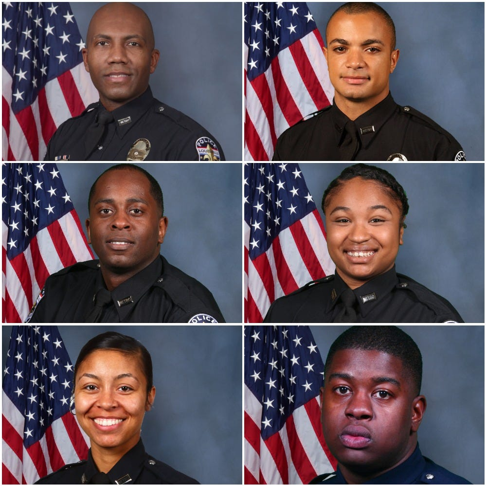 6 LMPD officers accused of working private security jobs during patrol shifts