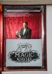 Brent Braun was 20 when he first walked into a magic shop. Now 42, he's opening his own -- J and B Magic Shop -- in New Albany on East Spring Street which will also feature a small theater where two shows a week are planned, one for adults and one for kids.