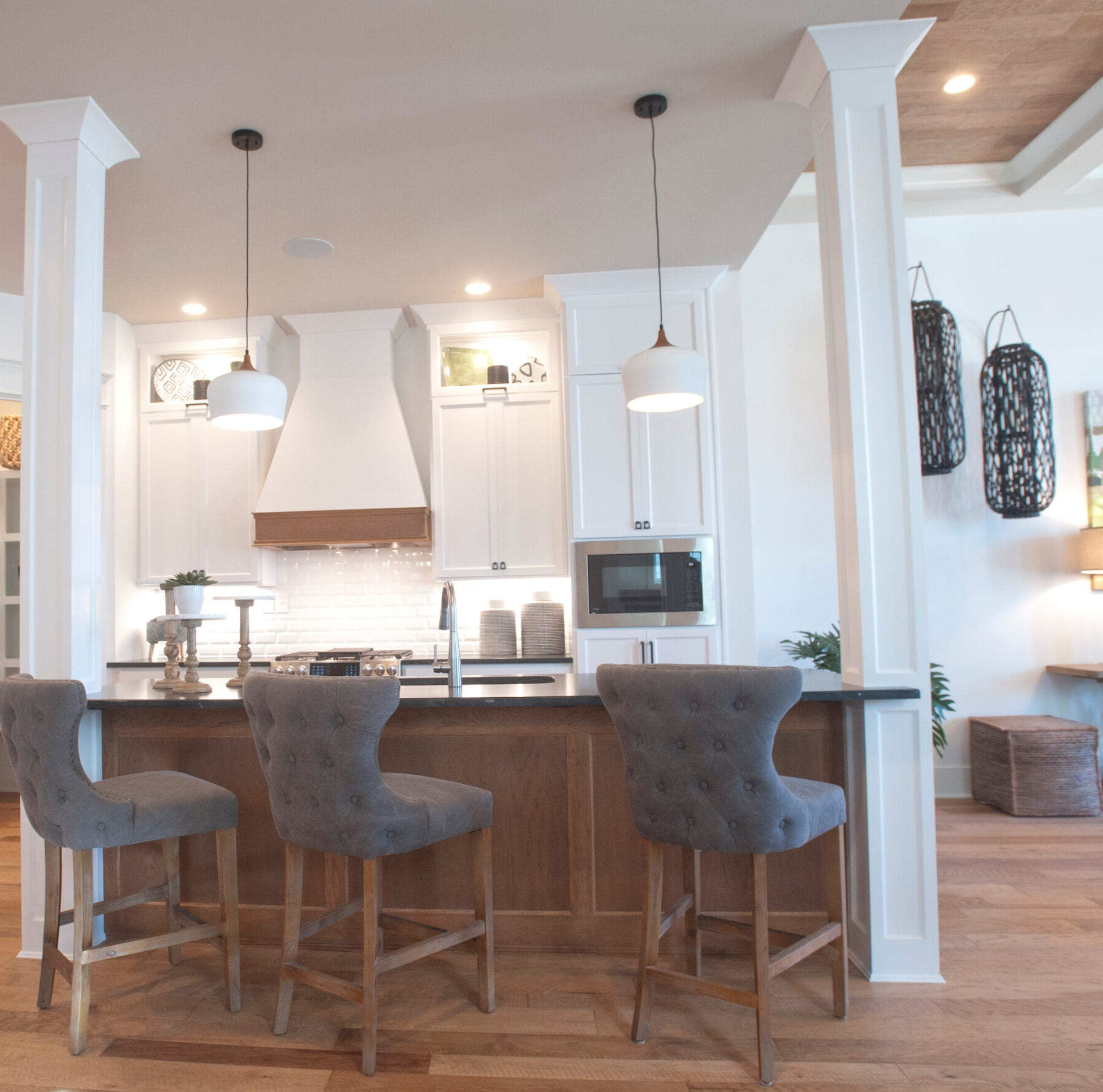 Want a warm and inviting space? This Norton Commons home's neutral tones may inspire you