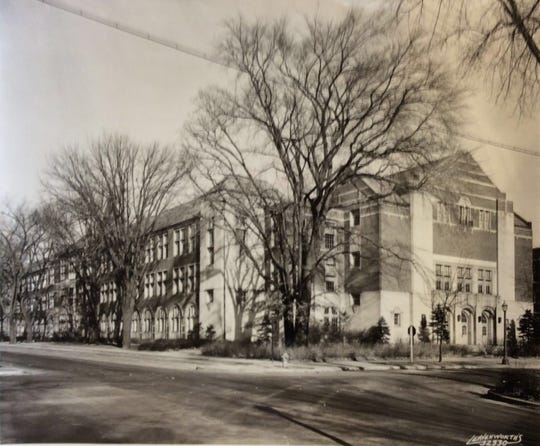 A 1958 photo of Eastern High School, which has hosted students since 1928. This will be the building's final year as a school.
