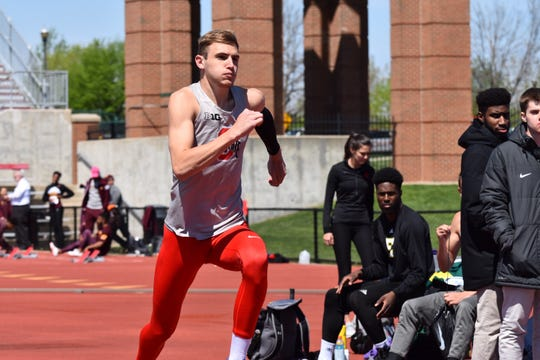Shelby alum and current Ohio State Buckeye Cody Stine jumped 7-feet-2 1/2 at the Big 10 Championships over the weekend taking second place in the event.