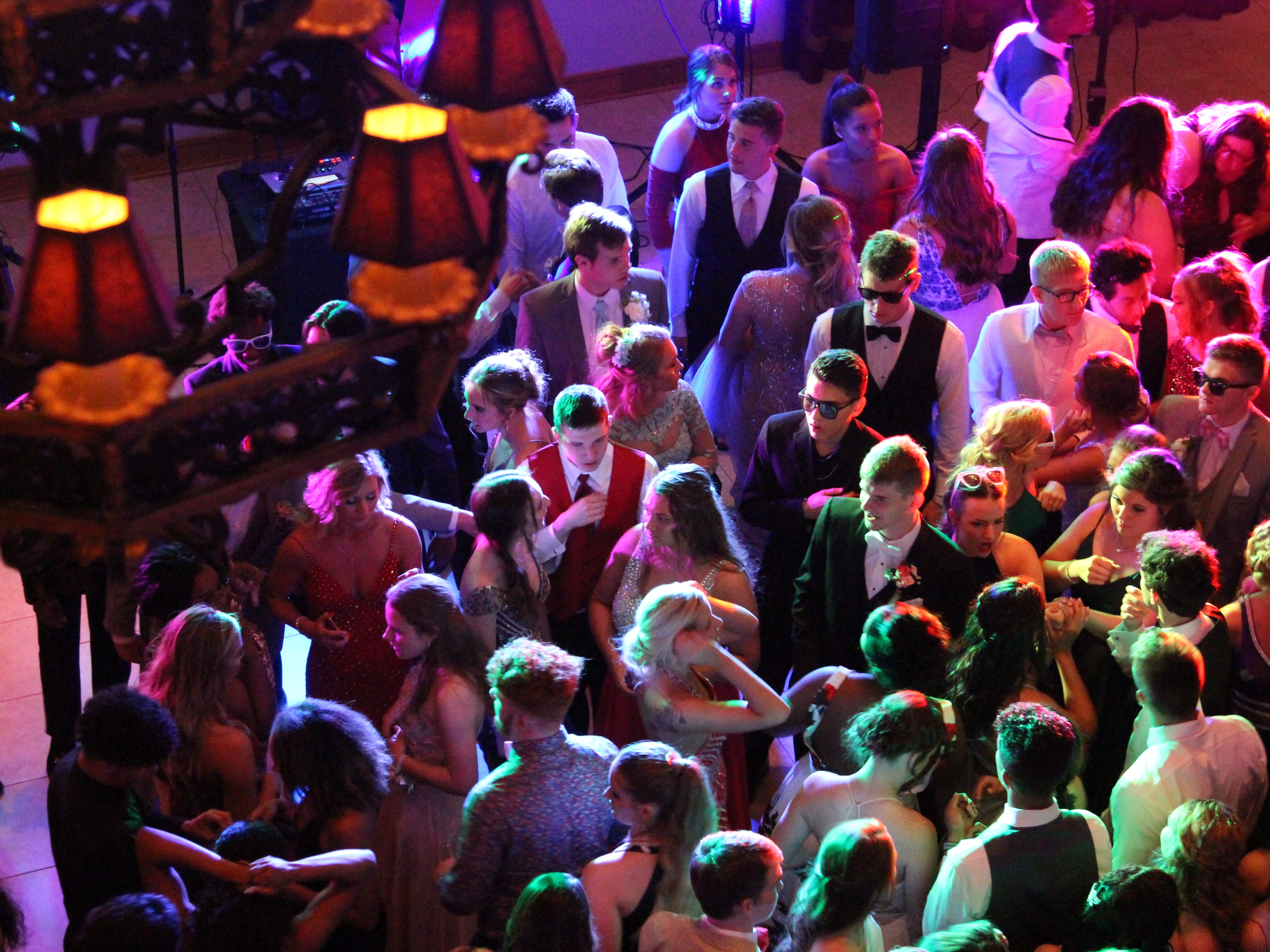 Marion Harding High School held its prom Saturday at the Marion Palace Theatre's May Pavilion.