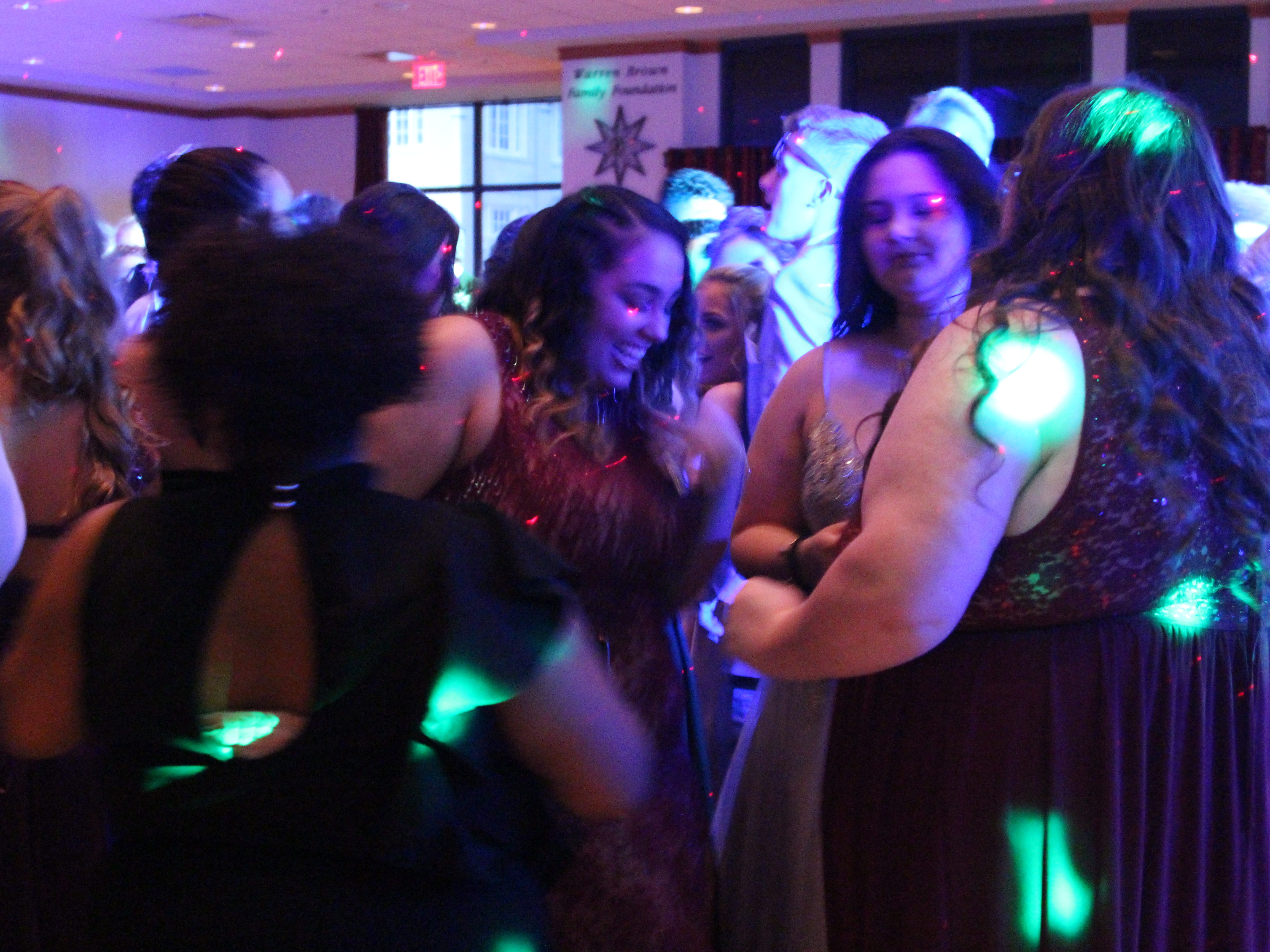 Marion Harding High School held its prom Saturday at Marion Palace Theatre's May Pavilion.