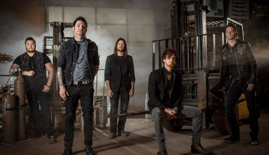 Hinder will take the main stage Sept. 7Marion Popcorn Festival.
