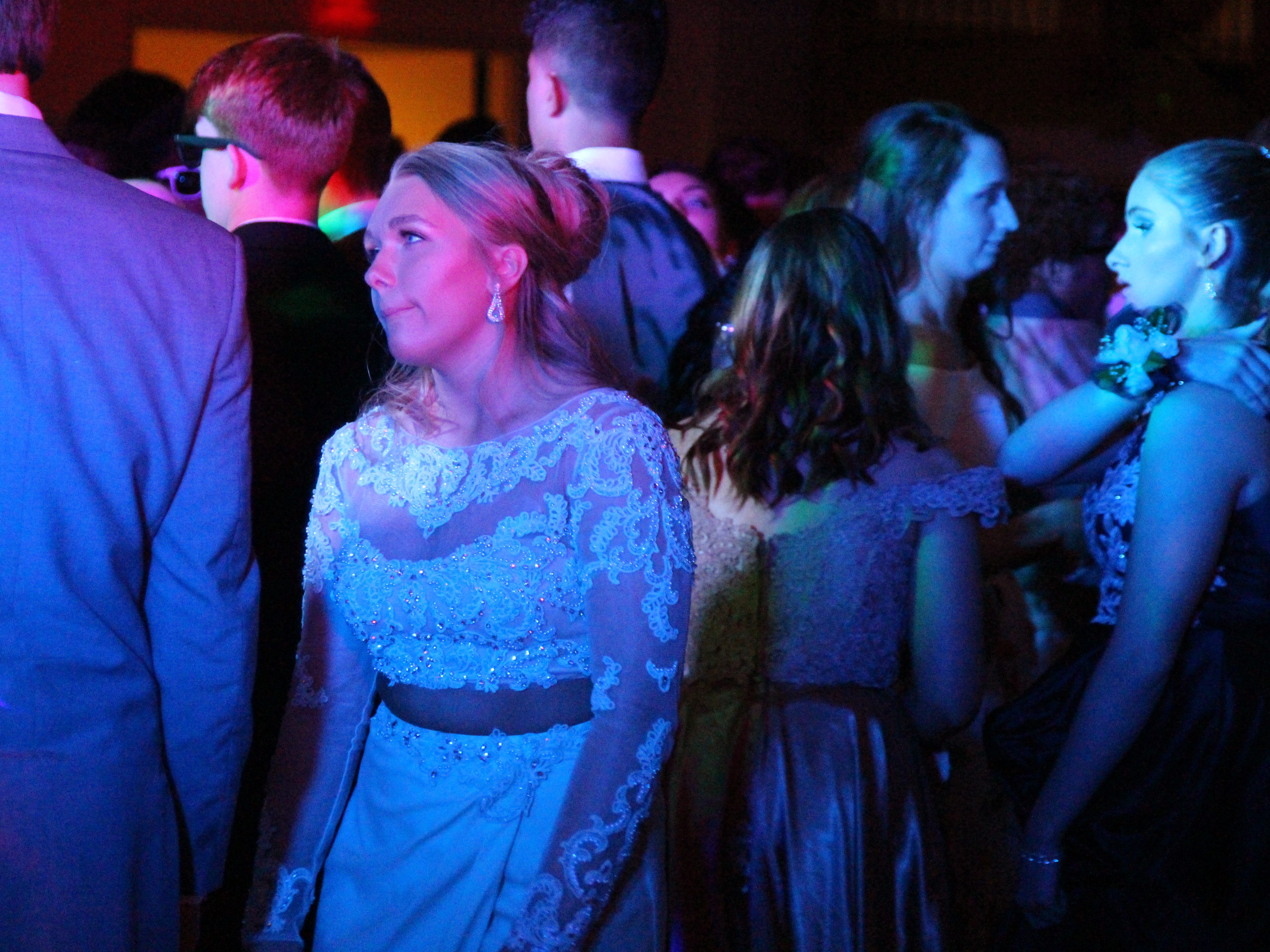 Marion Harding High School had its prom Saturday at the Marion Palace Theatre's May Pavilion.