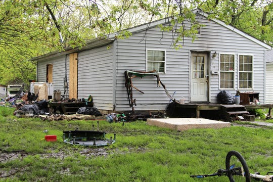 Marion City firefighters were called to 570 Polk St., after a bedroom in the rear of the house caught on fire Sunday afternoon. Though the blaze was quickly marked under control, the seven residents of the home were temporally displaced, according to the Marion City Fire Department.