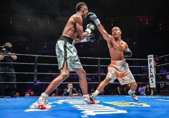 Memphis native Ladarius Miller, right, has a 19-1 record as a professional boxer.