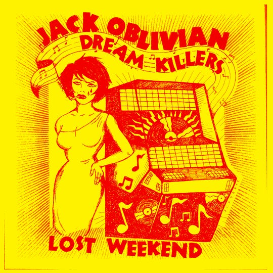 Jack Oblivian celebrates the release of his latest LP with Friday night shows at Goner Records and Bar DKDC.