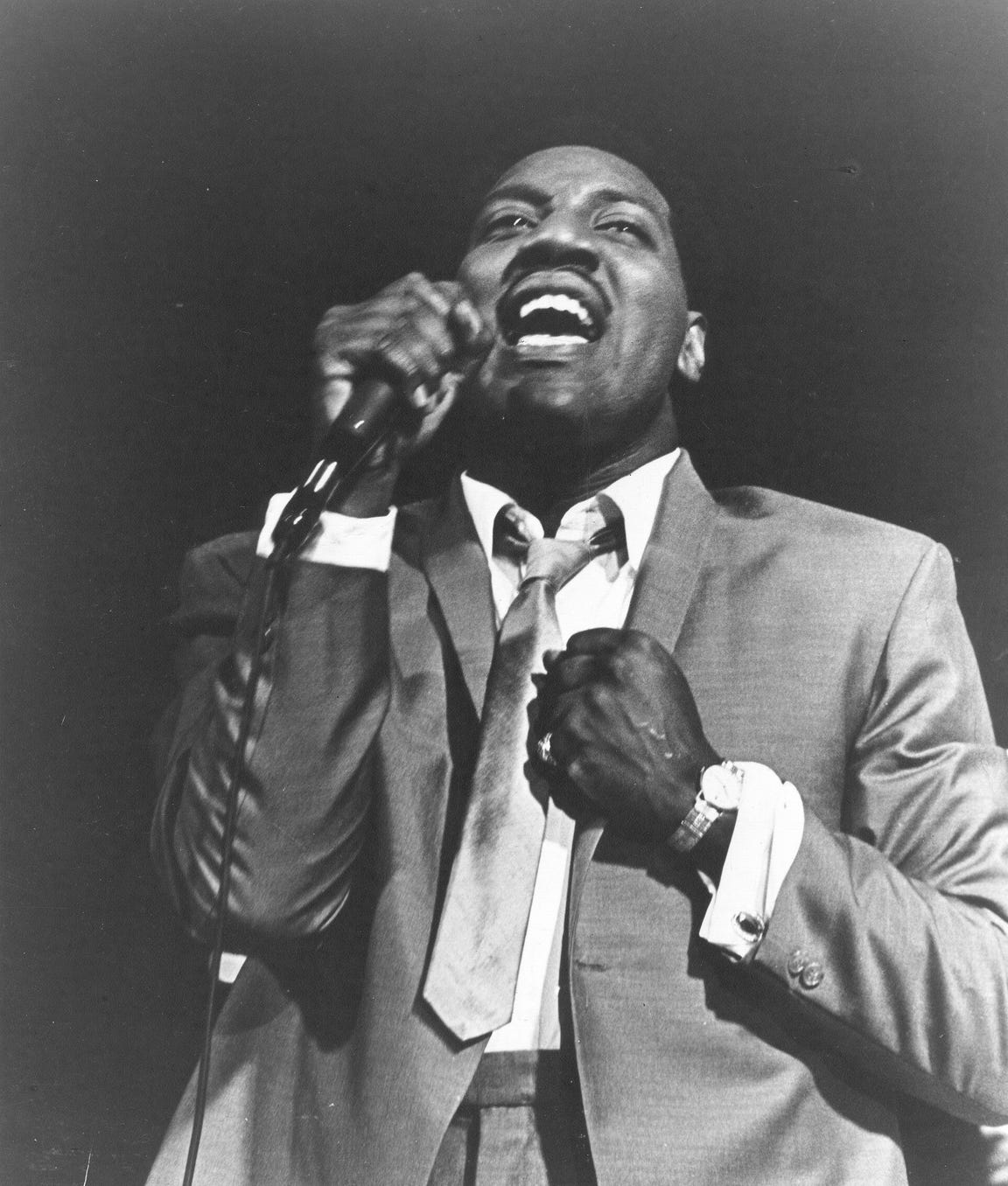 Otis Redding performs in 1967.