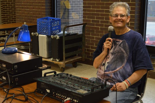 Chris Dalgren of Waukesha has DJed twice-monthly socials put on by the Association for the rights of Citizens with handicaps (ARCh) for 25 years.