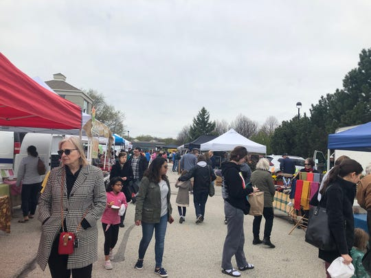 The Brookfield Farmers Market attracts visitors and vendors each year regardless of the weather.