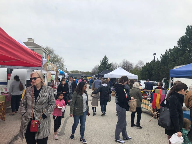 The Brookfield Farmers Market attracts visitors and vendors each year, but casual browsing won't be part of the 2020 market.