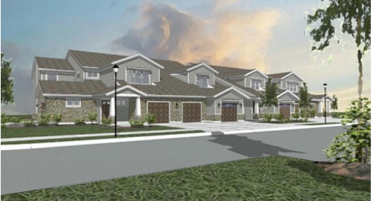A 96-unit, 12-building apartment complex has been proposed for woodsy wetland area in the 5000 block of South 124th St. in Greenfield.