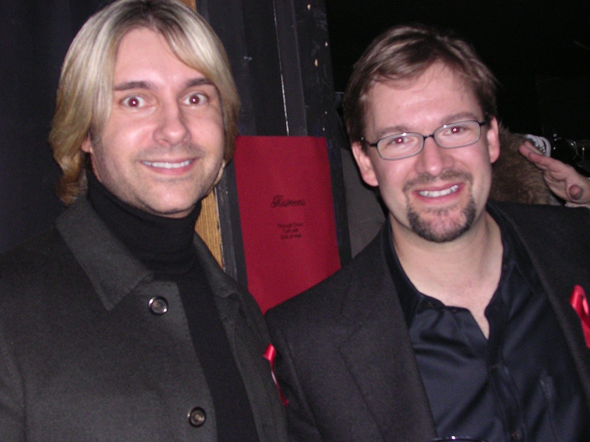 2004: Tony Chaconas and Chris Abele at a Camp heartland Party With Heart.