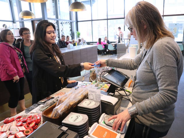 In the digital age, some restaurants and stores are going