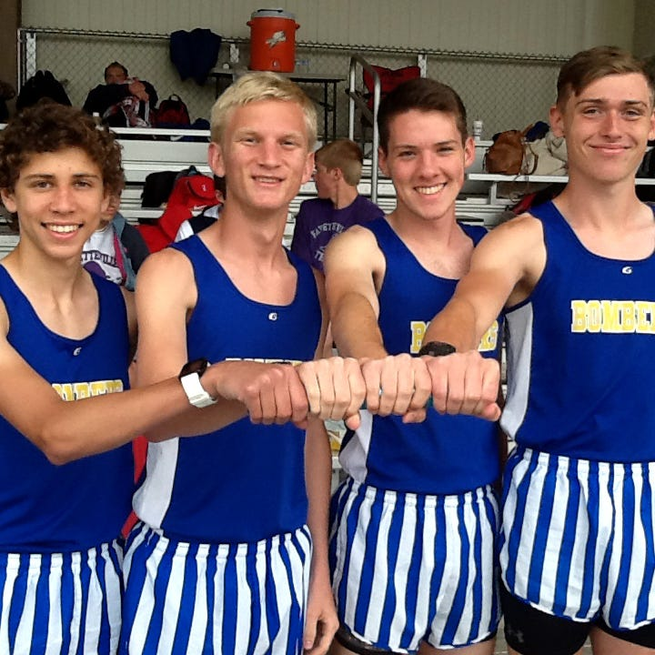 Bombers' 4x800 relay fourth at Meet of Champs