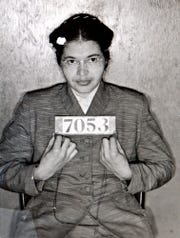 A Montgomery Sheriff's Department booking photo of Rosa Parks. A lawyer for the trustee of Parks' estate says relatives reneged on a deal to turn over a wool coat that Parks wore when she was arrested on a Montgomery bus. But a niece insists she doesn't have the coat.