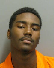 Corderrius Grant was charged with first-degree robbery.