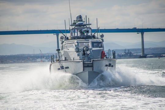 The Mark VI patrol boat.