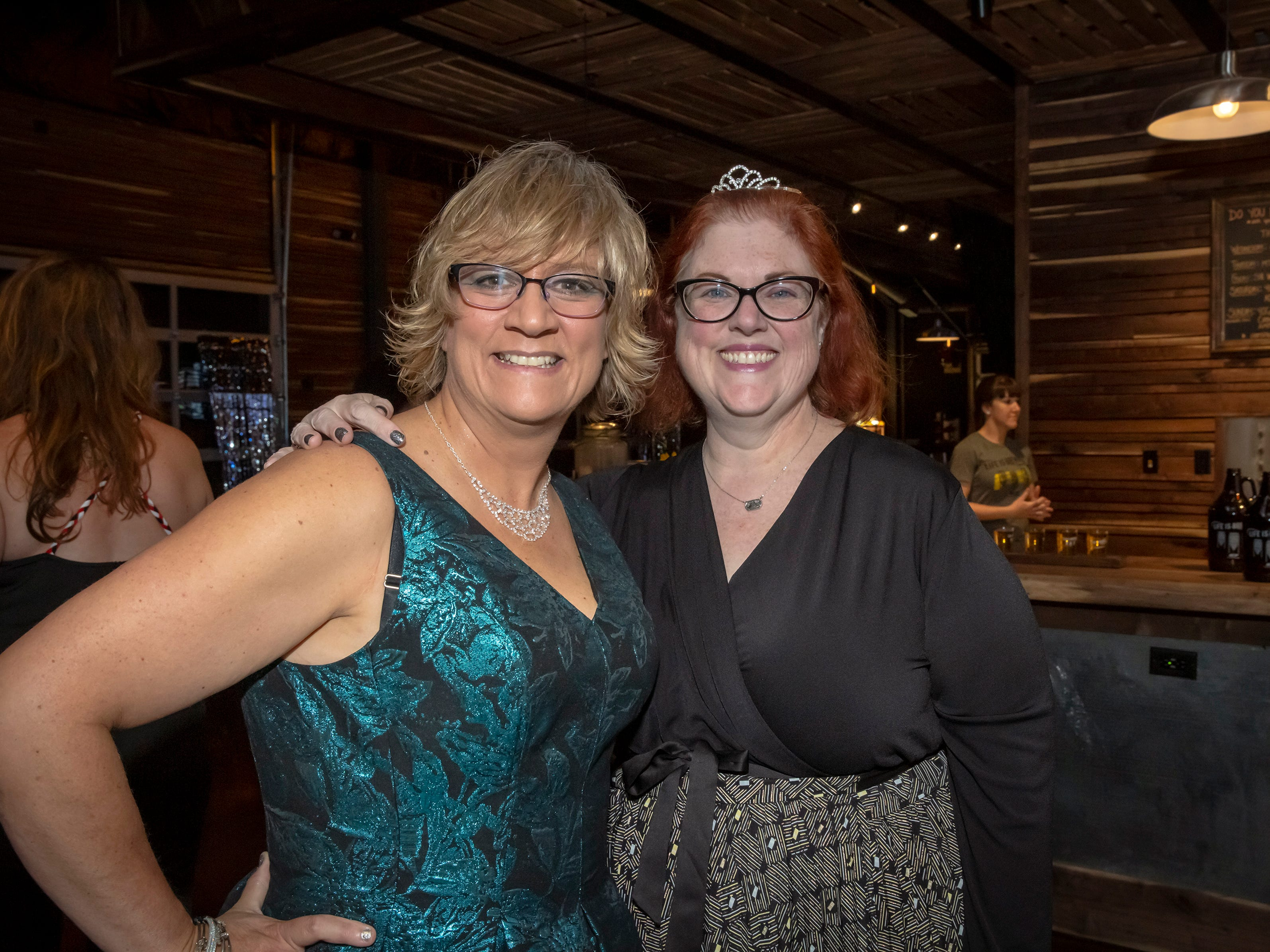 Ann Lelue and Beth Rose at the Adult Prom held at Hop Springs to benefit Kymari House, Saturday, May 11, 2019.