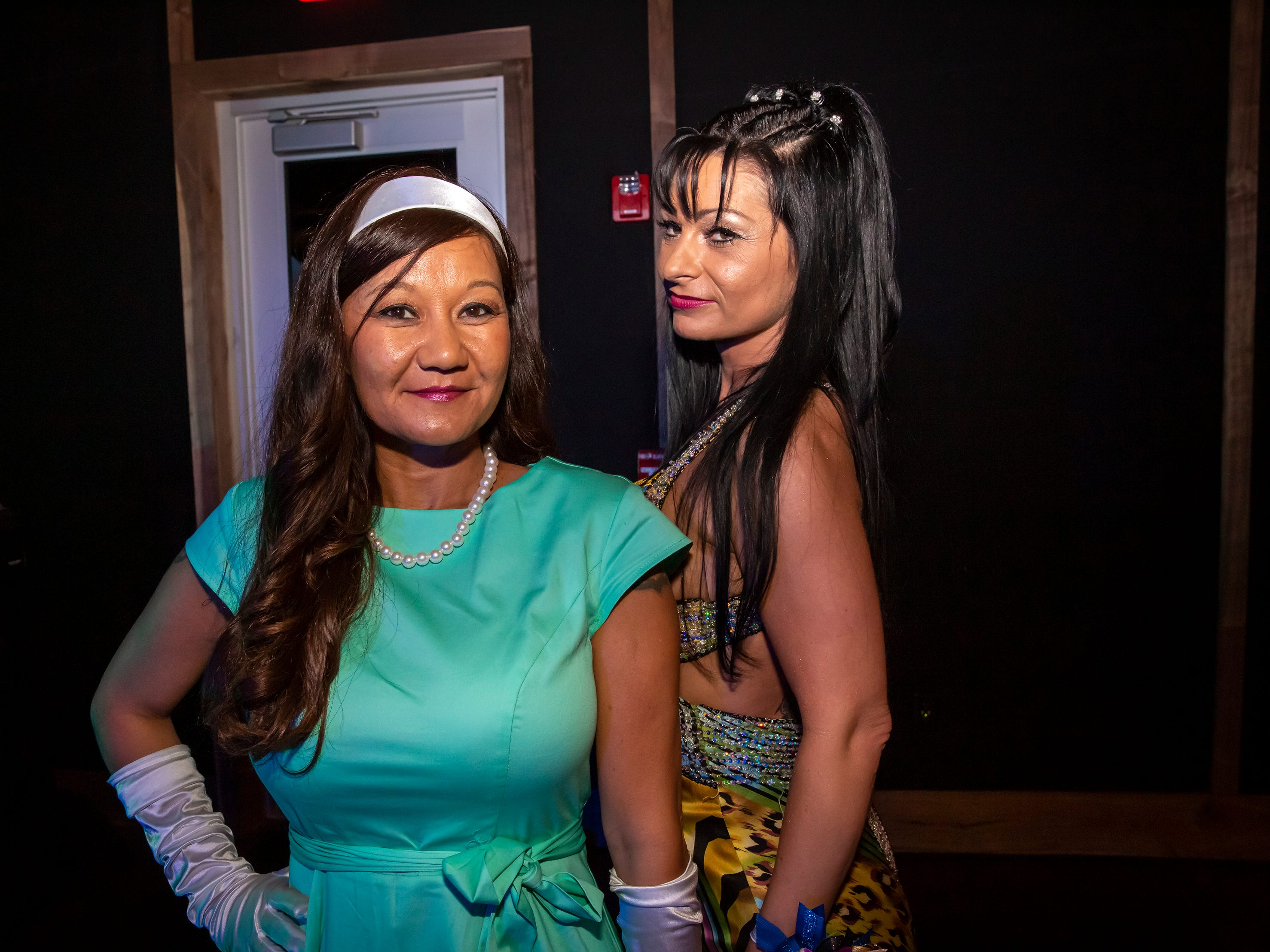 Chistine Perry and Brigitta Toth at the Adult Prom held at Hop Springs to benefit Kymari House, Saturday, May 11, 2019.