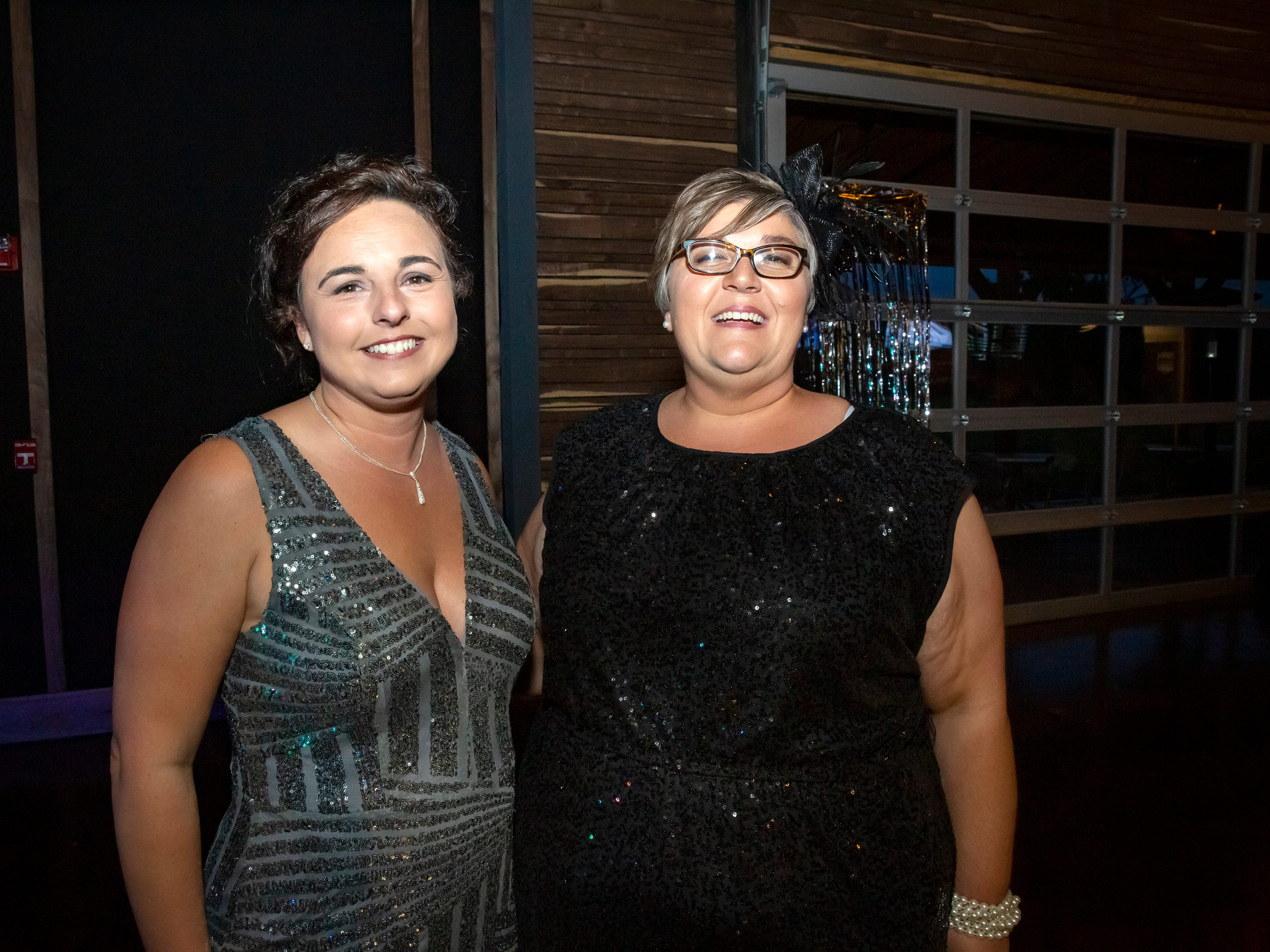 Brenda Haynes and Melissa McGuire at the Adult Prom held at Hop Springs to benefit Kymari House, Saturday, May 11, 2019.