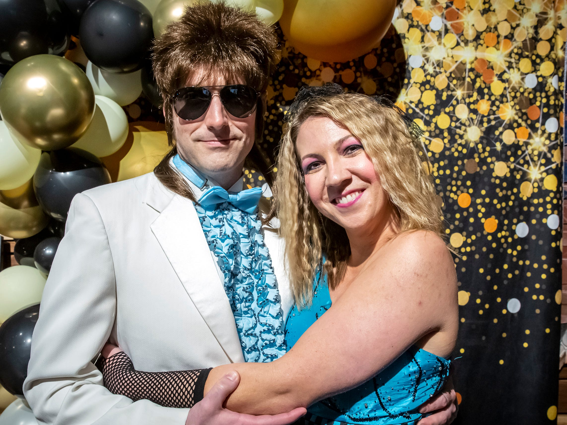 Mark Connolly and Sarah Ryman at the Adult Prom held at Hop Springs to benefit Kymari House, Saturday, May 11, 2019.