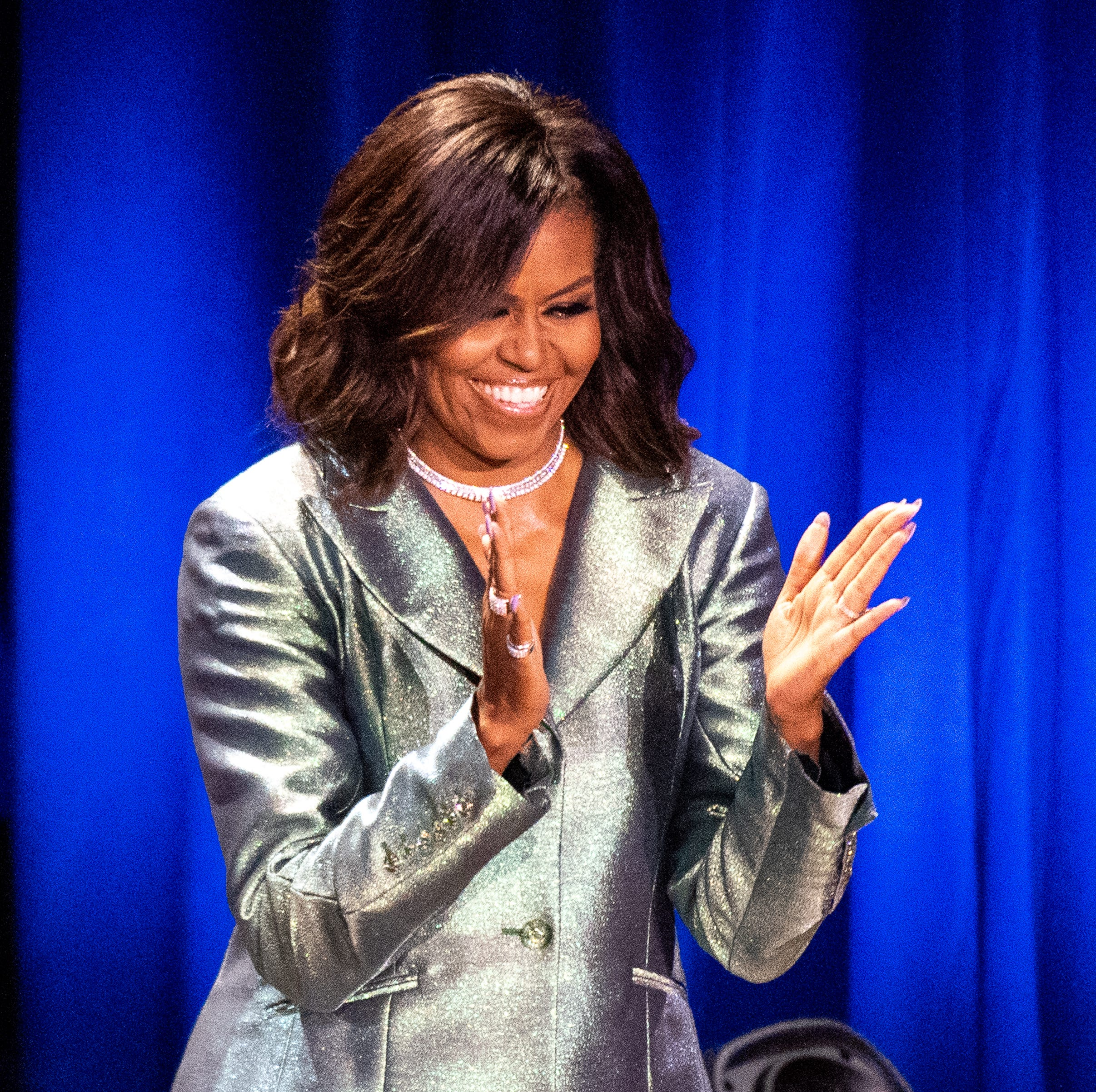 Trisha Yearwood, CeCe Winans part of all-star introduction for Michelle Obama at the Ryman