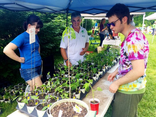 The Master Gardeners of Davidson County'sfree Urban Gardening Festival is Saturday at Ellington Agricultural Center.
