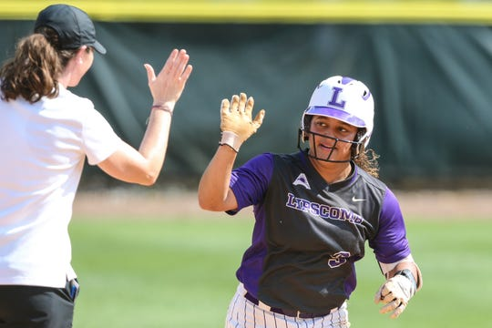 ​Lipscomb's Hannah DeVault is the Atlantic Sun Player of the Year.  ​