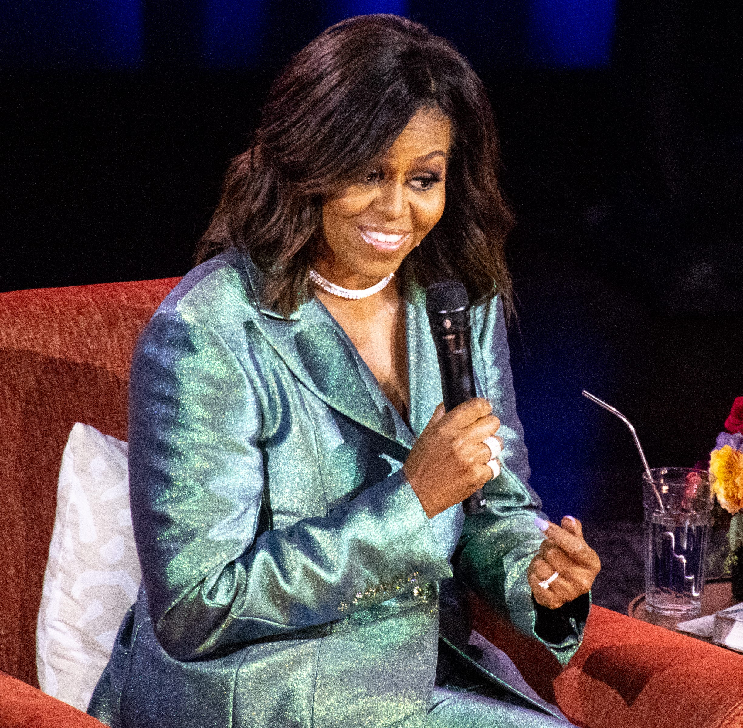 Michelle Obama tells Ryman audience about her last day as first lady and calling out Trump