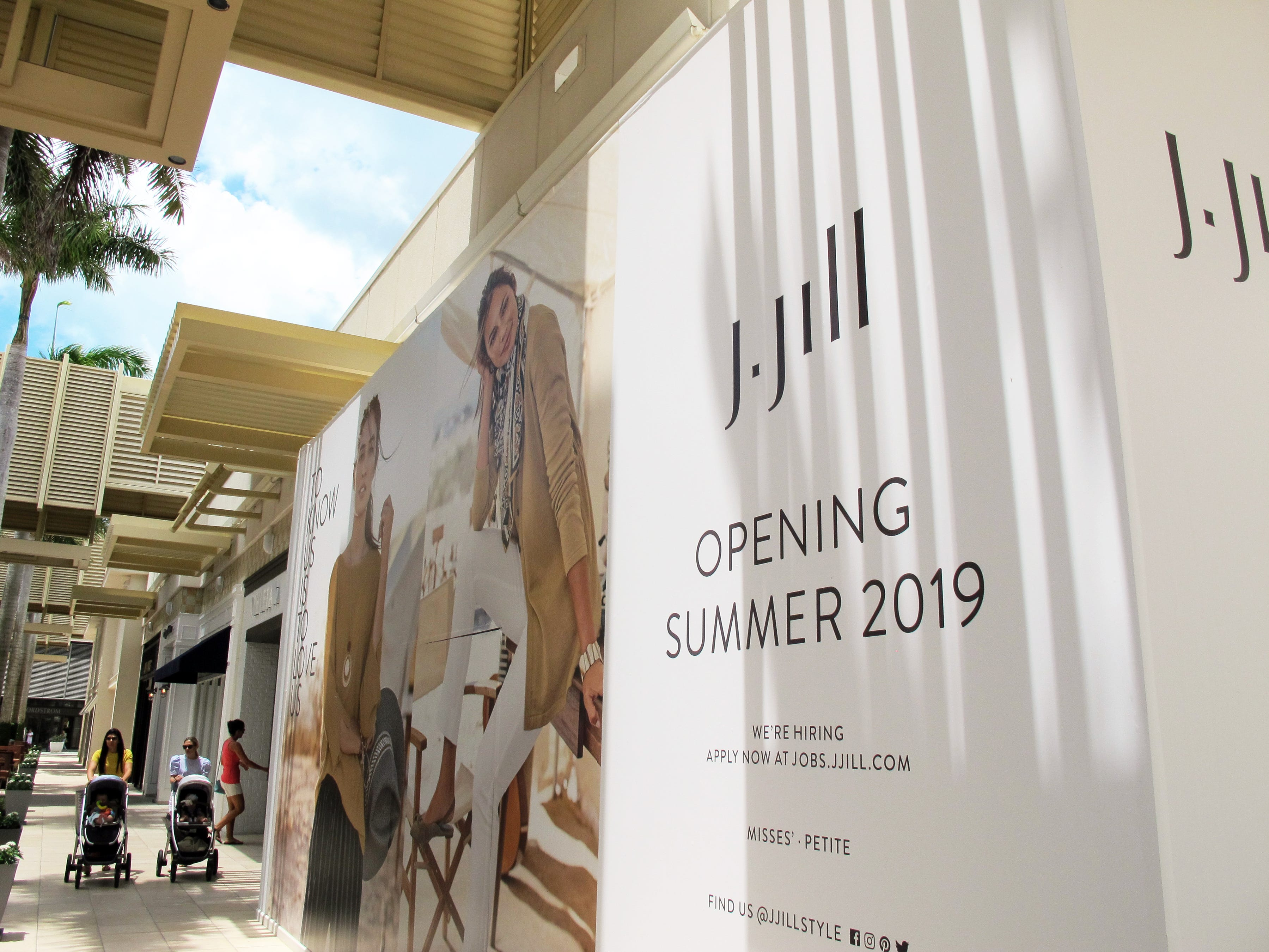 J.Jill women's clothing store is coming this summer to Waterside Shops in Naples.