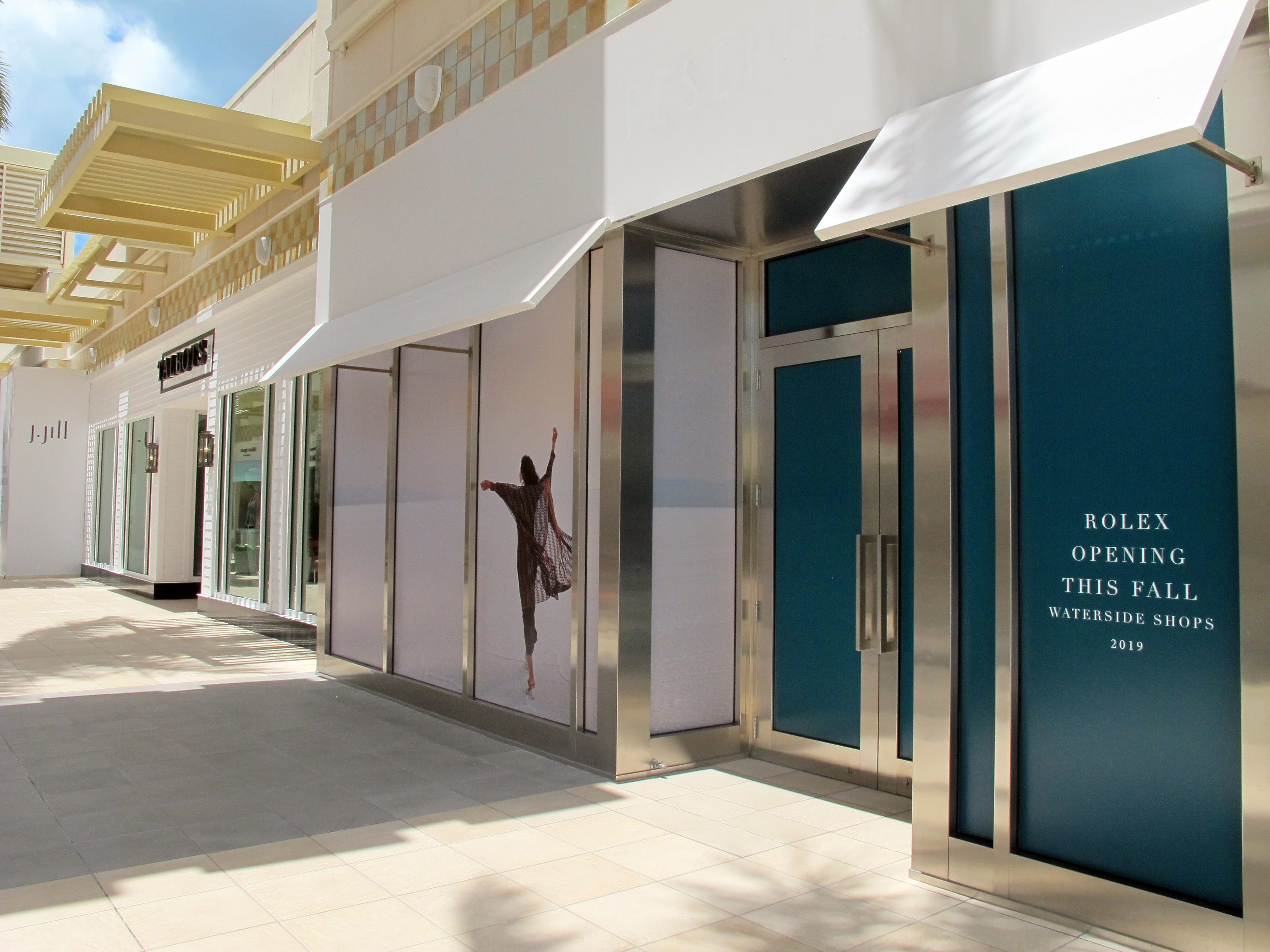 A Rolex luxury watch store is targeted to open this fall at Waterside Shops in Naples.
