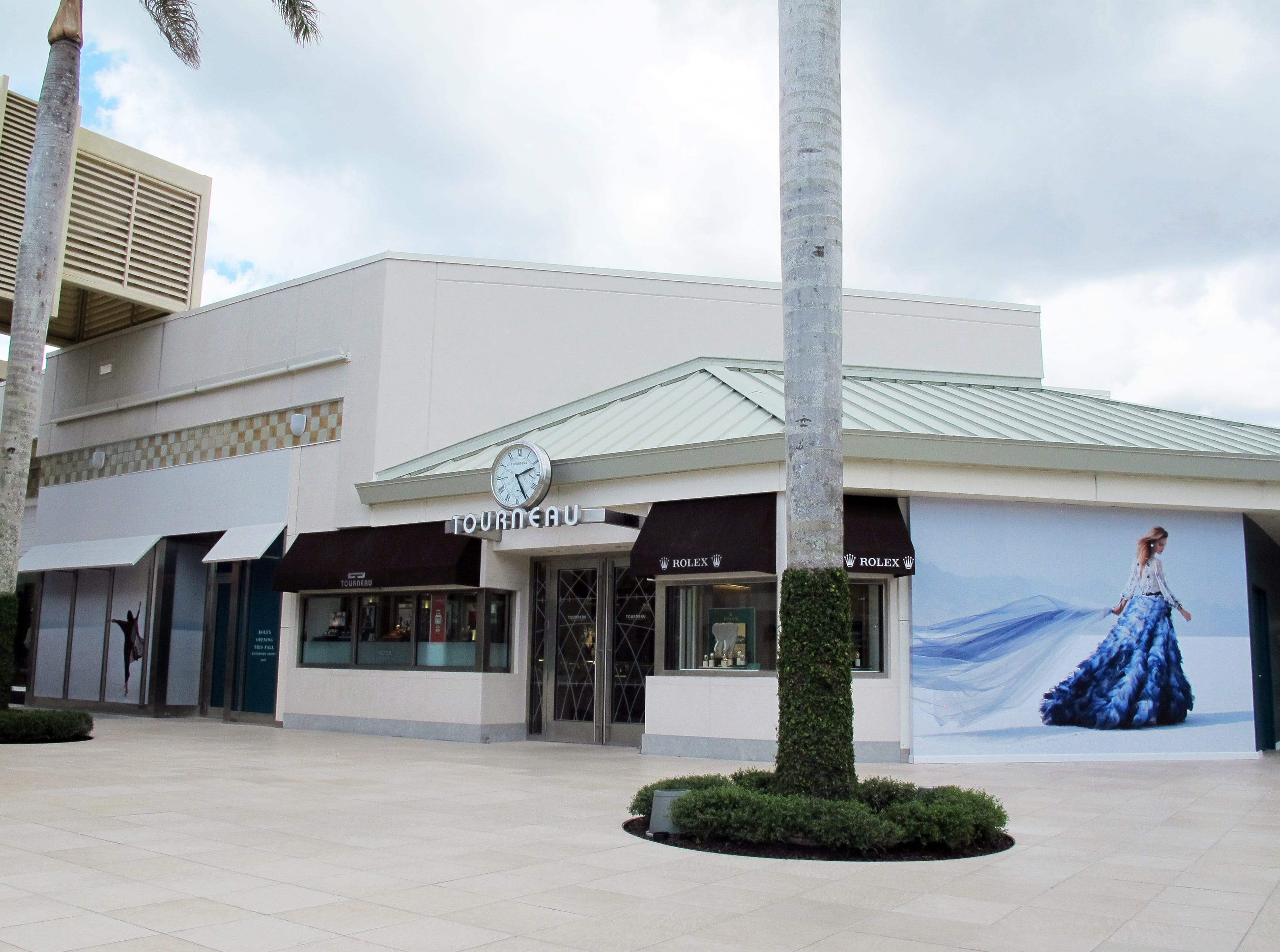 Tourneau watch shop is being renovated at Waterside Shops in Naples.