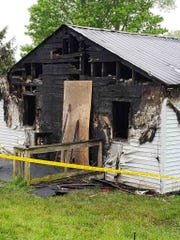 Fire officials say one man is dead after a house fire in Hanover Township on Sunday morning.