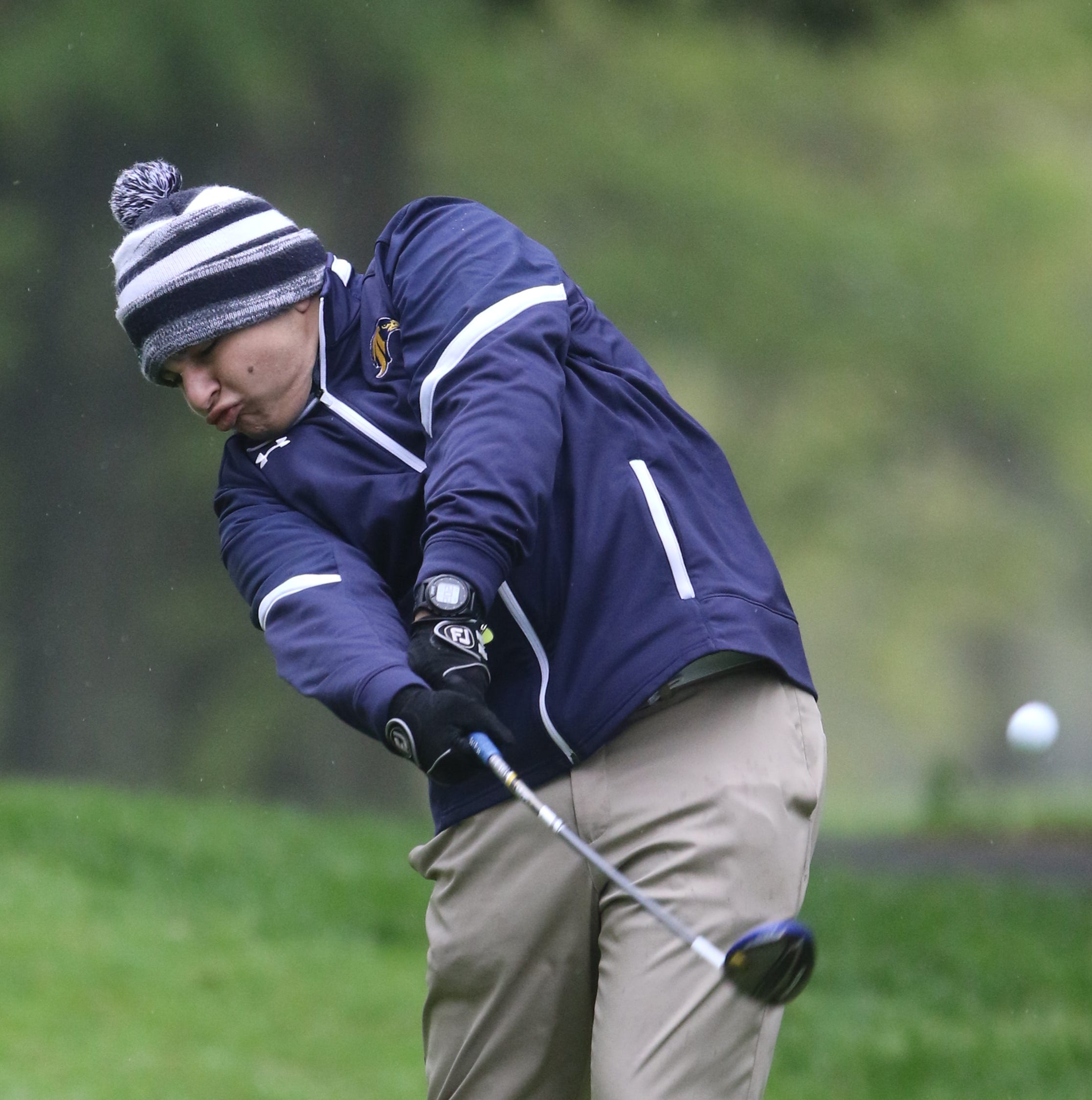 Mother Nature can't shut down NJSIAA golf sectionals