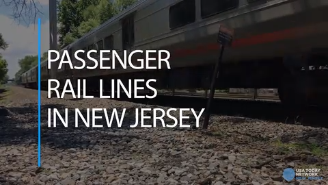Passenger Rail Lines in New Jersey