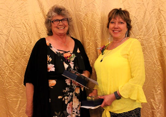 Jayne Pieroni, security guard at Picacho Middle School, was named runner-up for the Educational Support Personnel of the Year. Mary Bachman, an Educational Assistant at Doña Ana Elementary School earned the 2020 Las Cruces Public Schools Educational Support Personnel of the Year award.