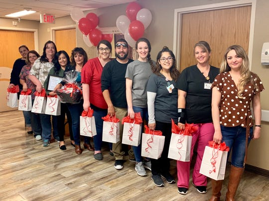 Landsun Health Service Center LPNs and RNs celebrating National Nurse Appreciation Week 2019.