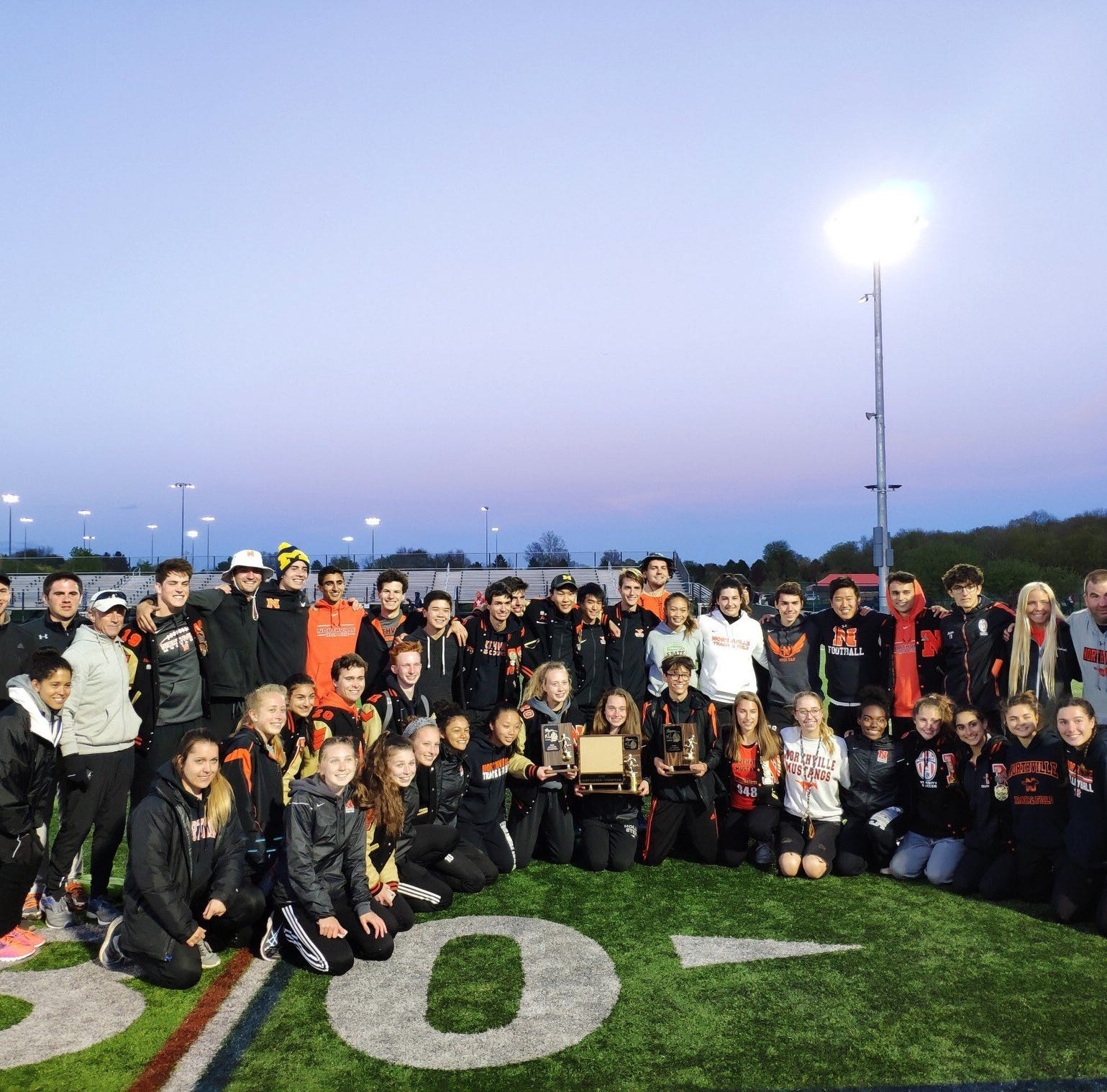 KLAA track championship results: Northville girls take first-place, boys take second