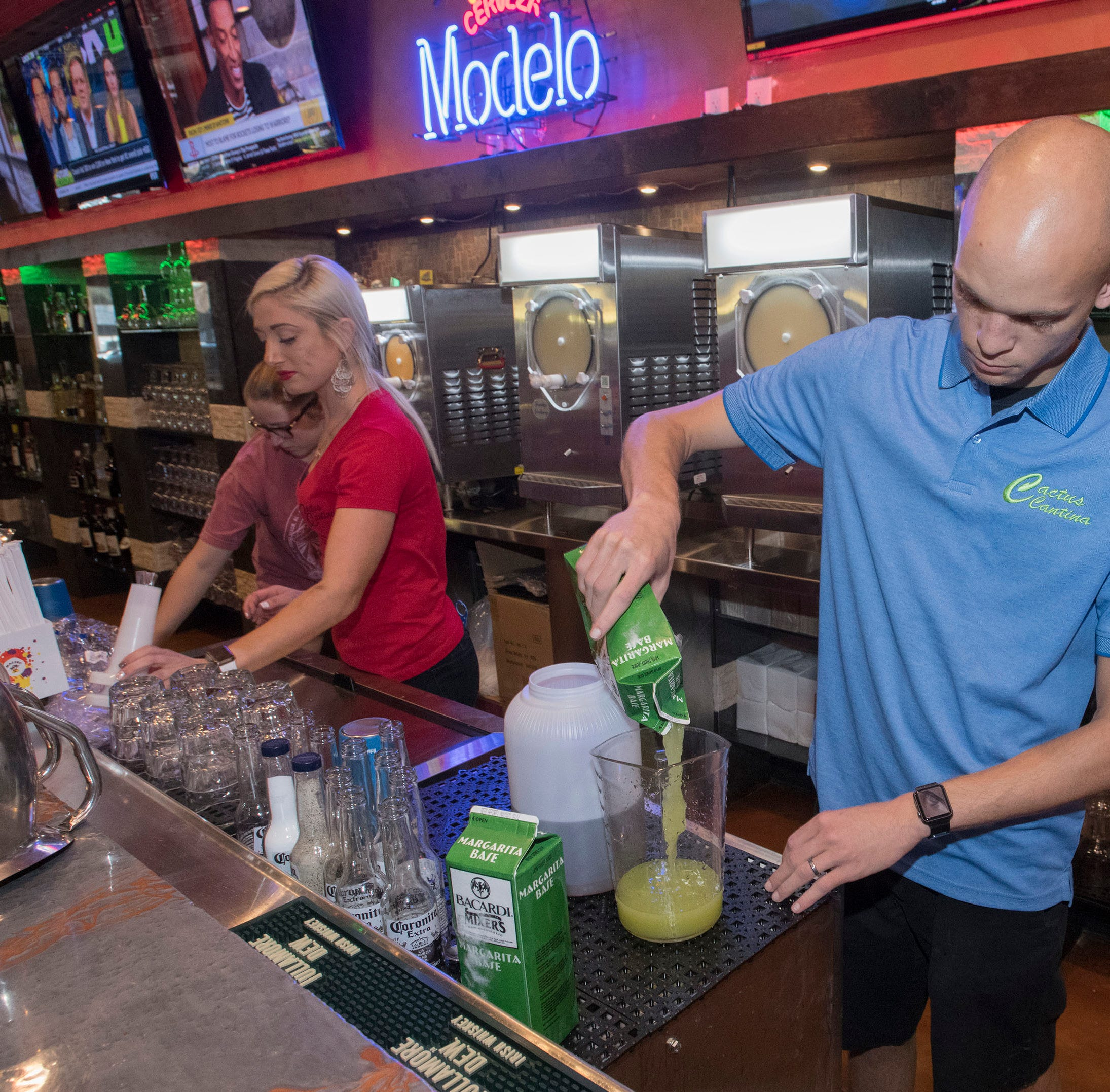 Downtown Pensacola Cactus Cantina opens Wednesday in former Beef 'O' Brady's building