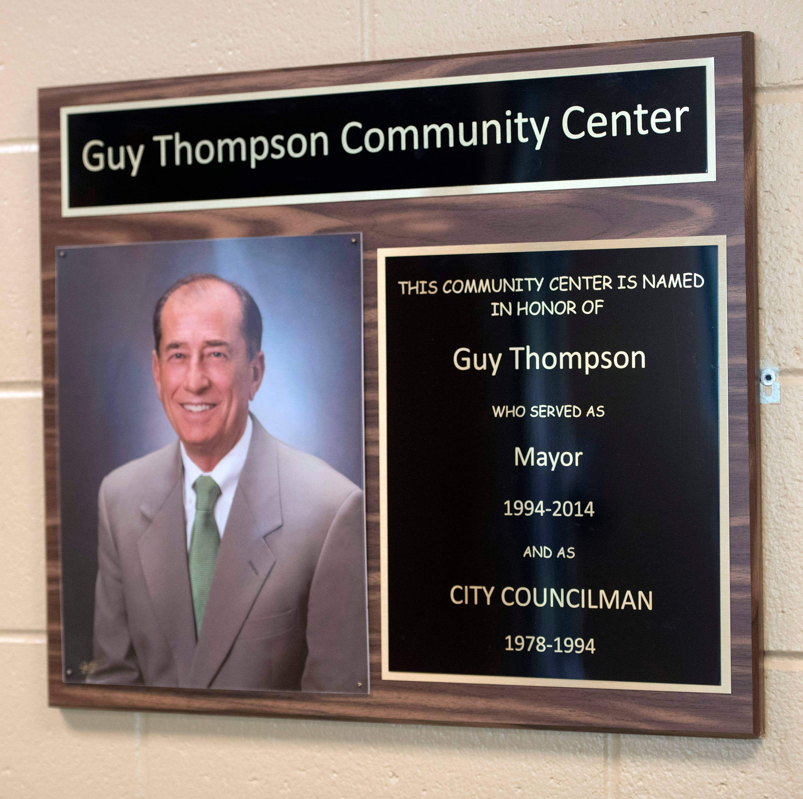 Milton will rename Guy Thompson Community Center, may pursue forensic audit