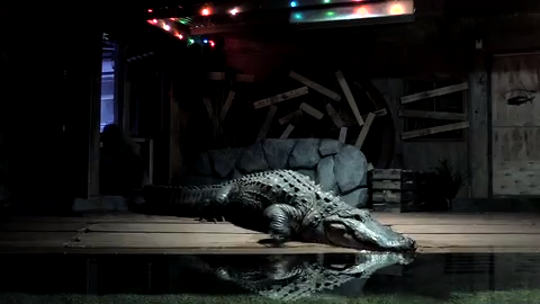 Bruce Shwedick, co-founder of Crocodilian Conservation Center of Florida, drove an 800-pound alligator, Mighty Mike, across the country in a van to be on display at OdySea Aquarium in Scottsdale. They arrived May 13, 2019.