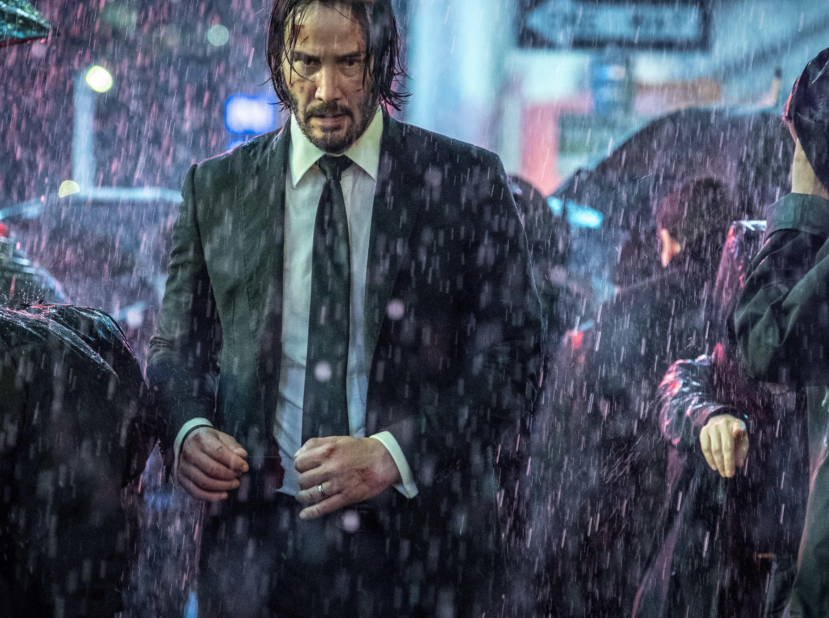"""""""John Wick: Chapter 3 – Parabellum"""" focuses on John (Keanu Reeves), a man who loves his dog."""