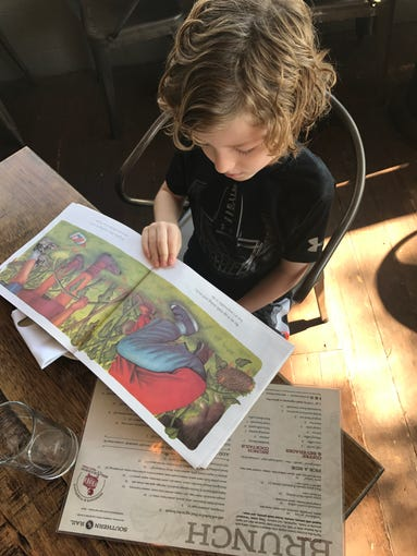 Southern Rail and Beckett's Table feature kids menus' incorporated into beloved children's storybooks.