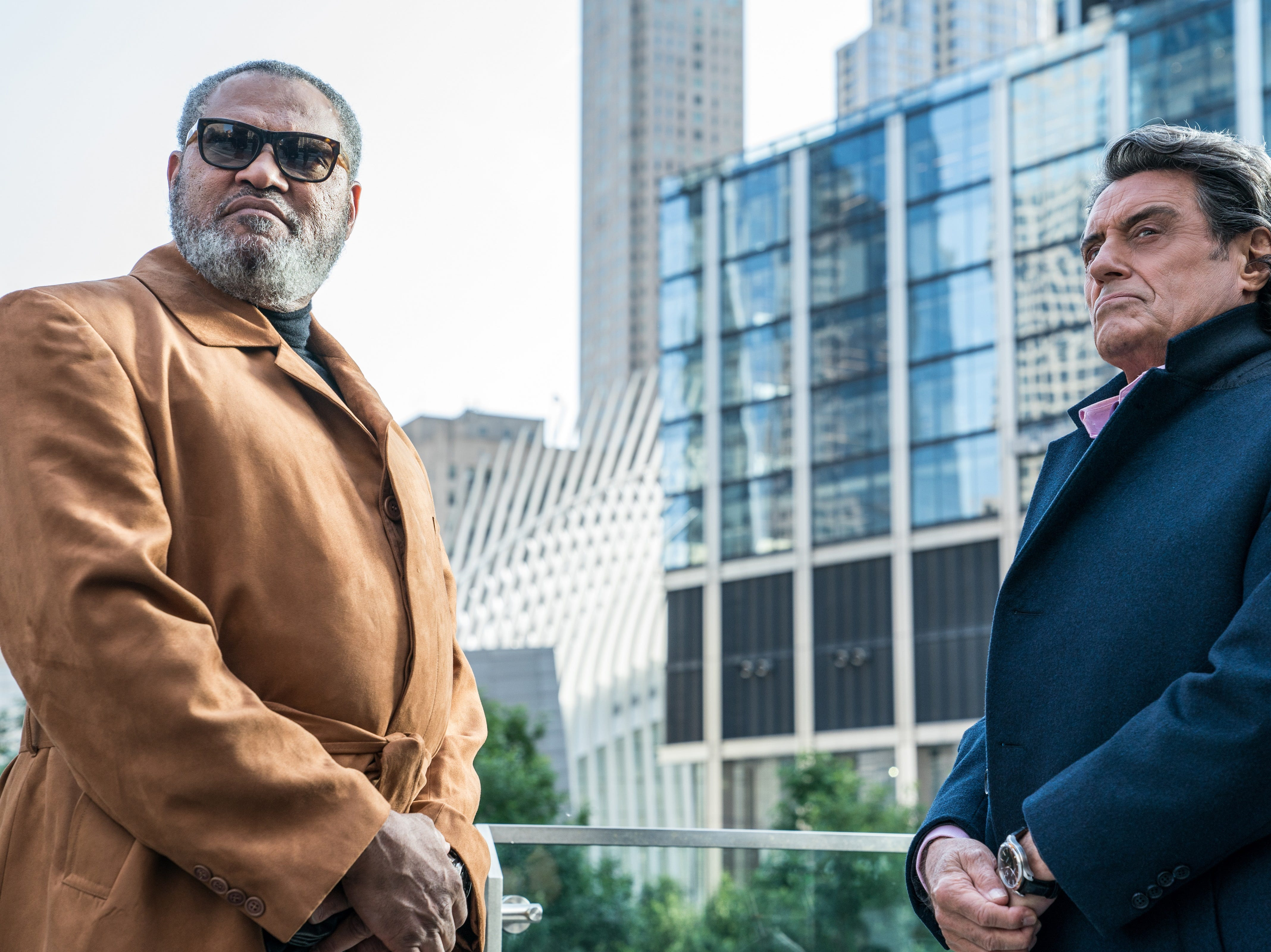 """Laurence Fishburne (left) and Ian McShane star in """"John Wick: Chapter 3 – Parabellum."""""""