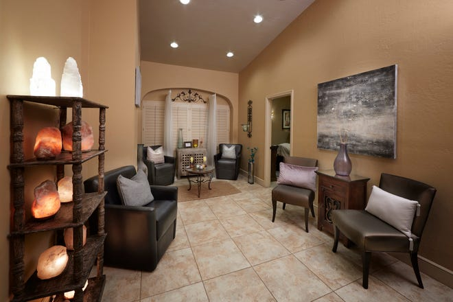 Guests relax and unwind at The Scottsdale Plaza Resort's full-service day spa.