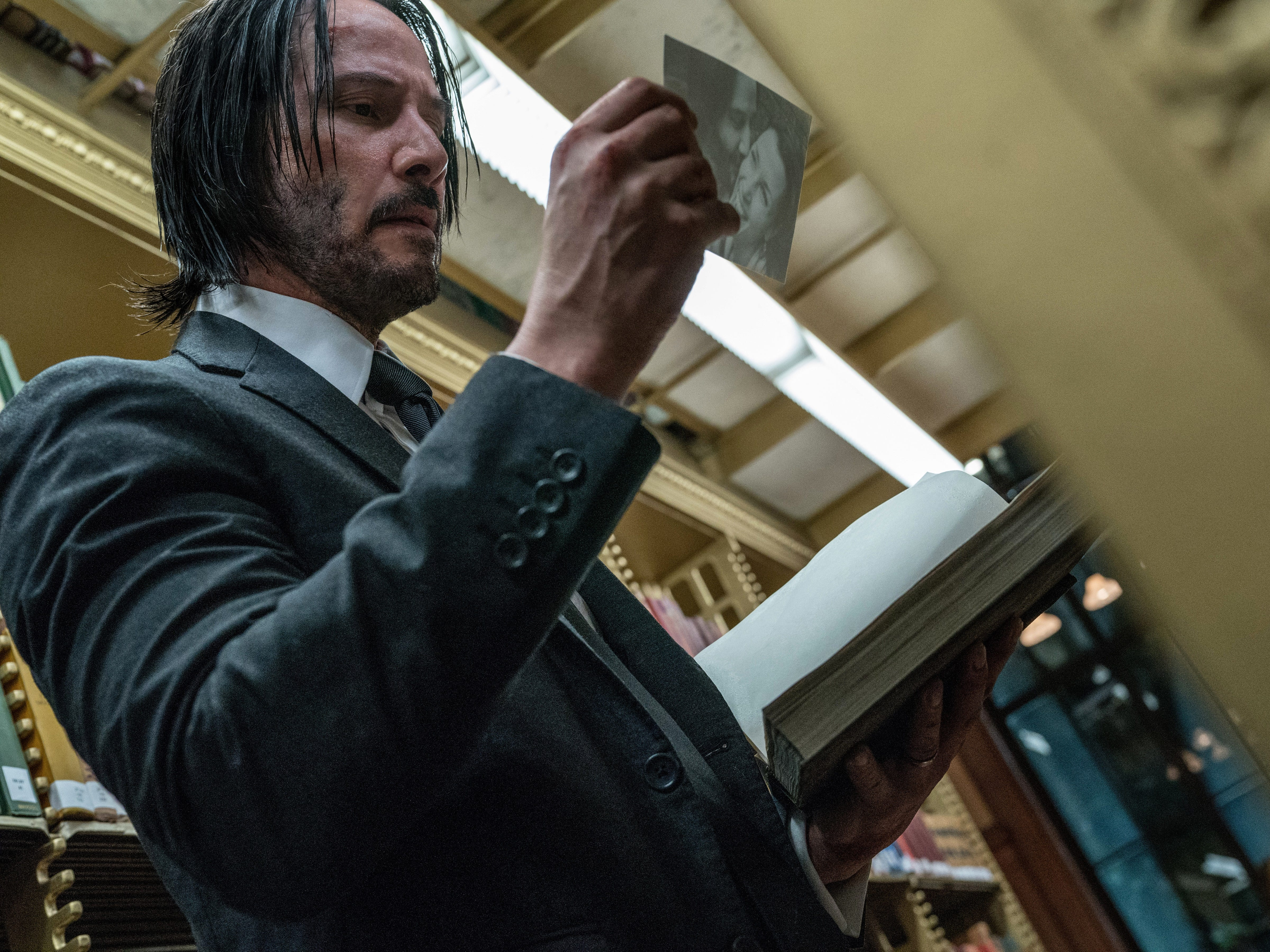 """John Wick: Chapter 3 – Parabellum"" stars Keanu Reeves."