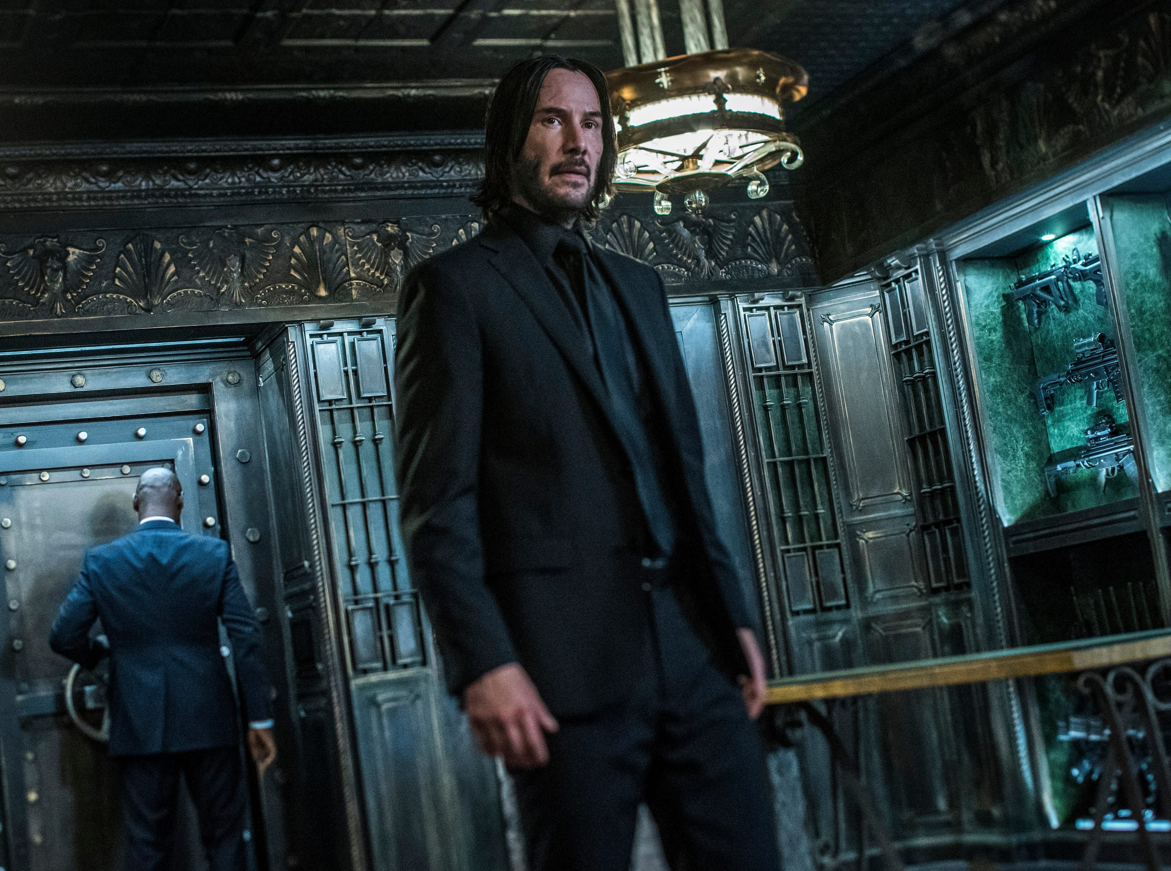 "Keanu Reeves returns as John Wick in ""John Wick: Chapter 3 – Parabellum."""
